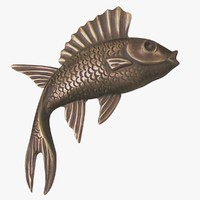 wall fish fg 3d model