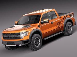 3d 2012 2013 pickup truck model