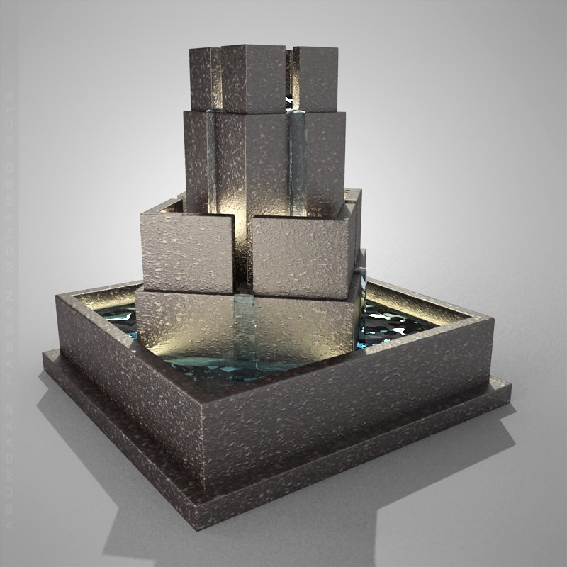 fountain 3ds