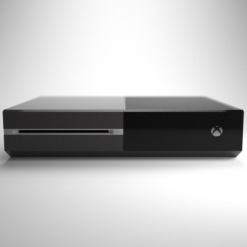 console xbox 3d max