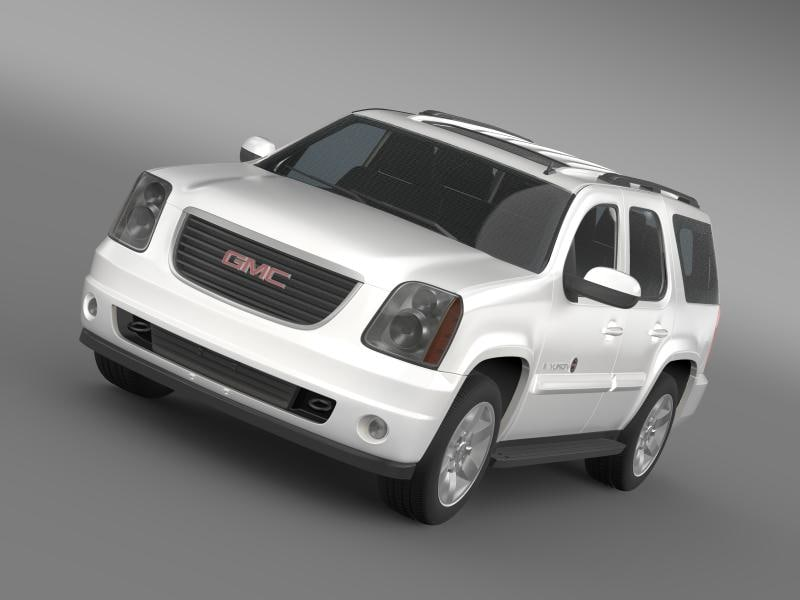 gmc yukon heritage edition 3ds
