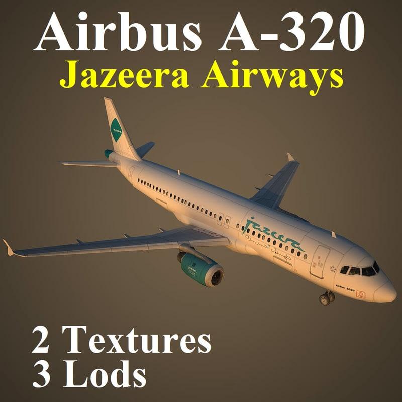 3d model of airbus jzr