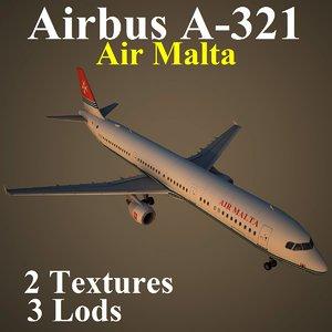 airbus amc 3d model