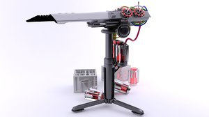 3d frequency gun
