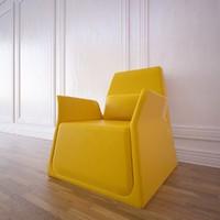 pio armchair sancal 3d fbx