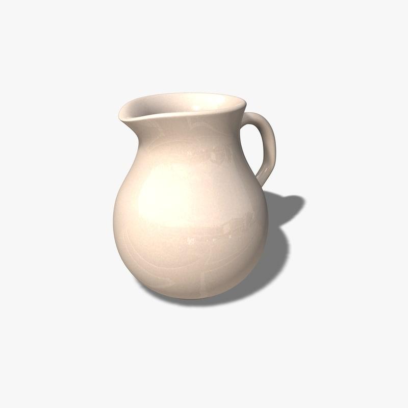 c4d kitchen jug