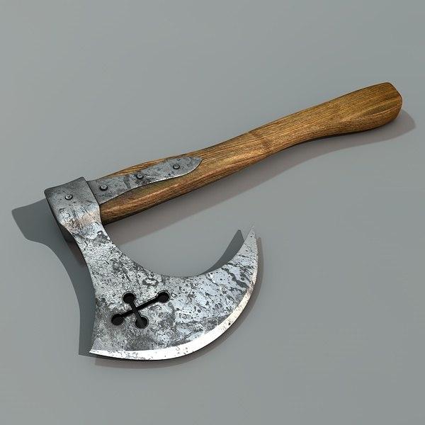s hatchet 3d model