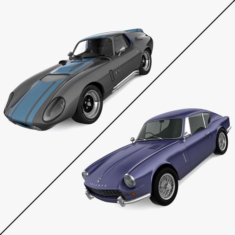 3d retro cars 17