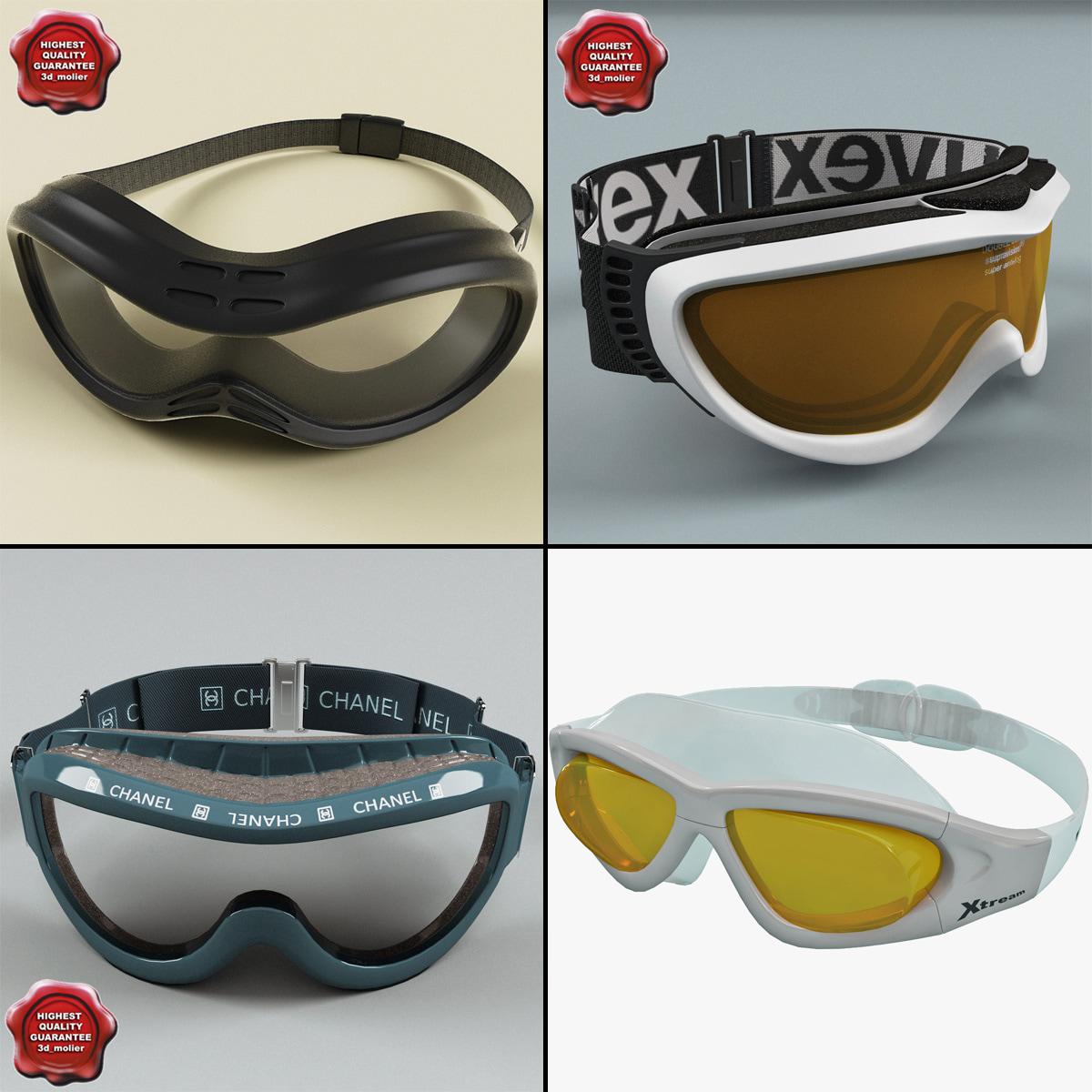3dsmax ski masks v3