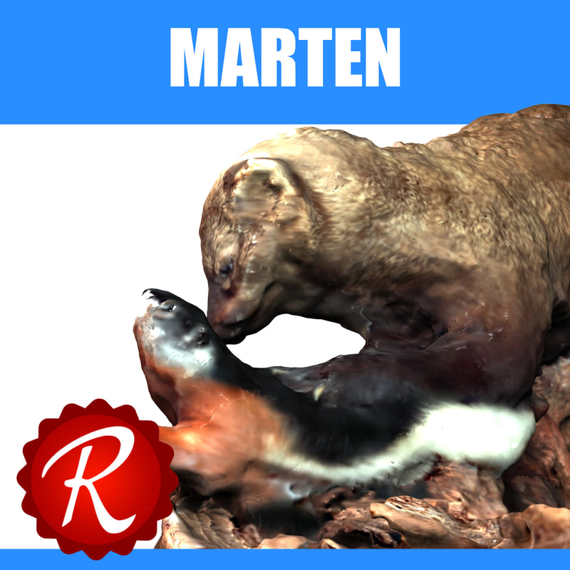 3d marmot glacier model