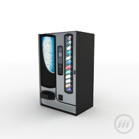 3d vending machine model