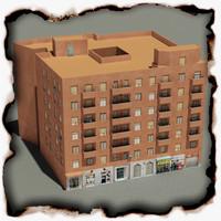 building 64 3d 3ds