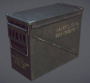 3d ammunition box
