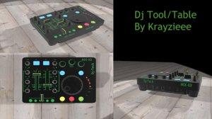free max model dj table