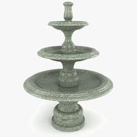 Garden Fountain 3