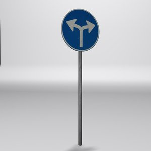 required direction sign 3ds