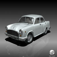 3d model ambassador car