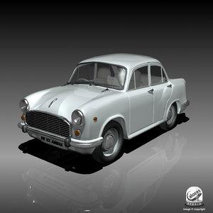 3d model ambassador car