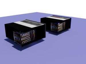 ink cartdriges 3d model