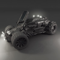 3d vehicle jeep model