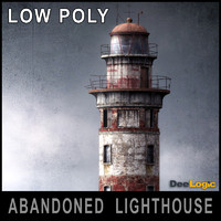 abandoned lighthouse 3d max