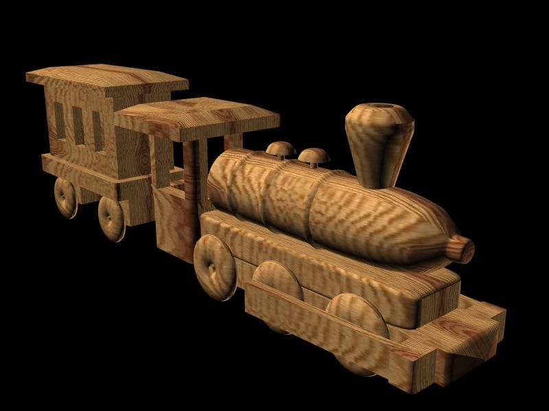 free locomotiva 3d model