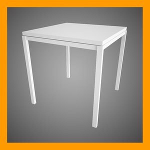3d model melltorp table