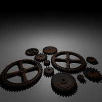 rusty gears (collection)