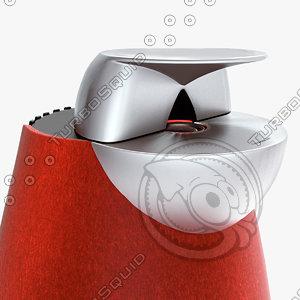 free basic speakers 3d model