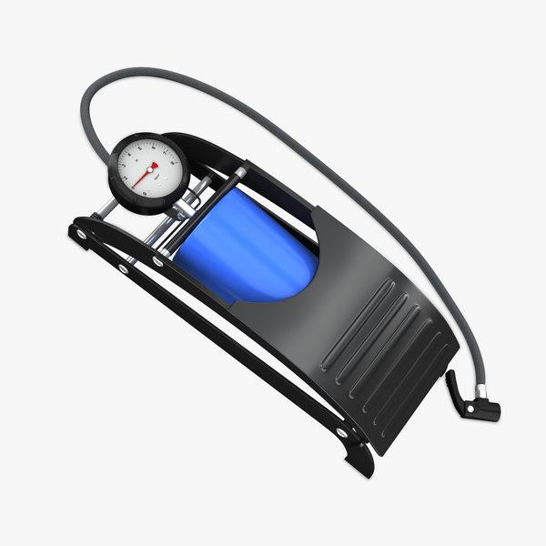 air pump car 3d model
