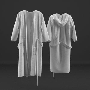 3d robe 1 model