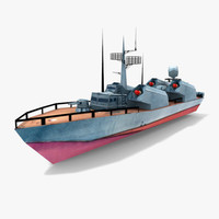P205 Osa class missile boat