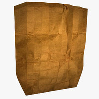 paper beg 3d model
