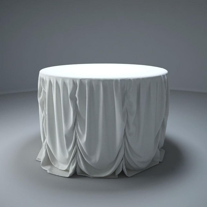 dining tables 3d obj