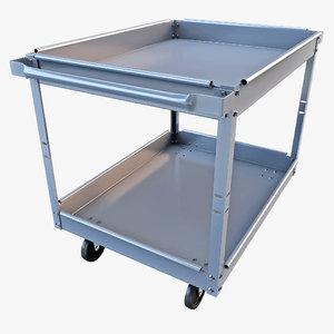 service cart 3d model