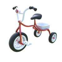 3d kid bicycle