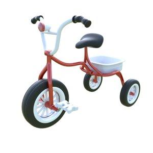 3d kid bicycle