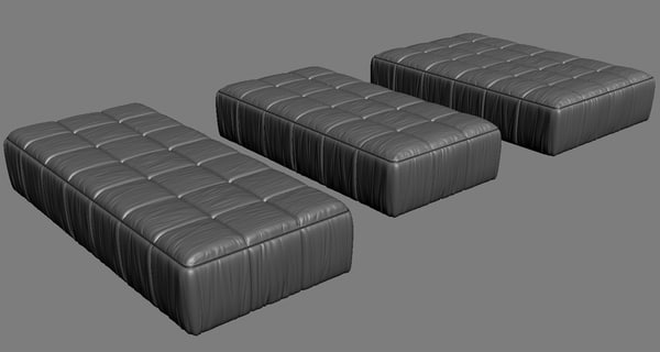 arflex sripes bed 3d 3ds