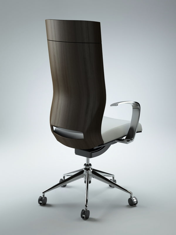 3d office chair
