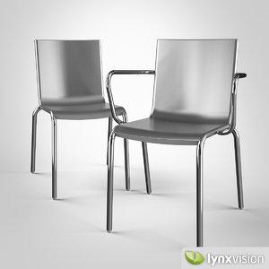 3d model alo chair magis
