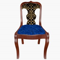 3ds empire chair