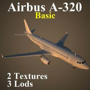 3ds max airbus basic