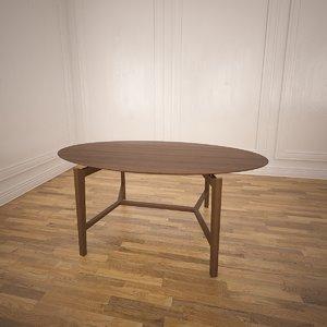 symbol table calligaris 3d 3ds