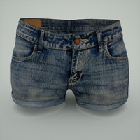 woman jeans hotpants fbx