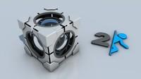 3d model cube portal