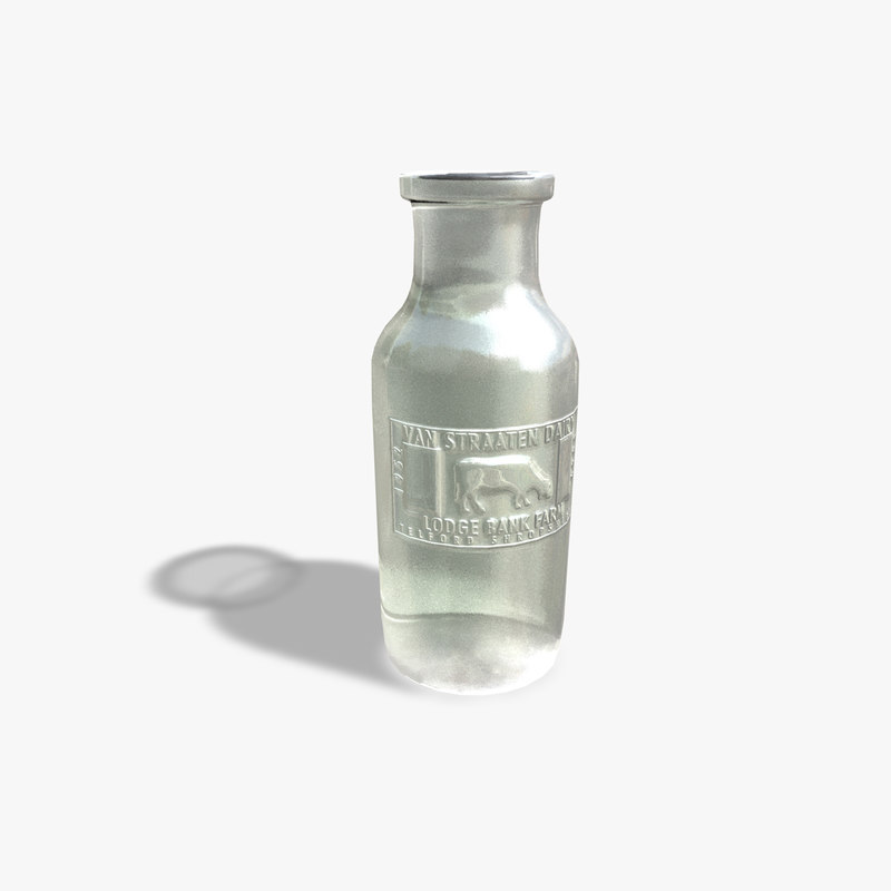dxf old fashioned milk bottle