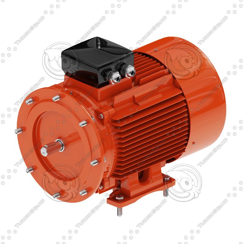 electric motor obj