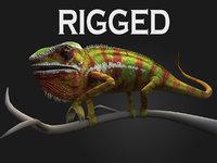 3d max rig chameleon