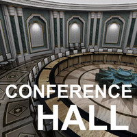 3d conference hall