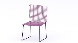 free max model wireframe chair
